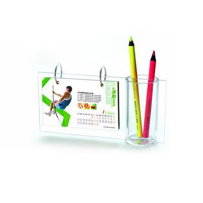 創意禮品  商務禮品 高檔臺歷 水晶臺歷 筆筒相架