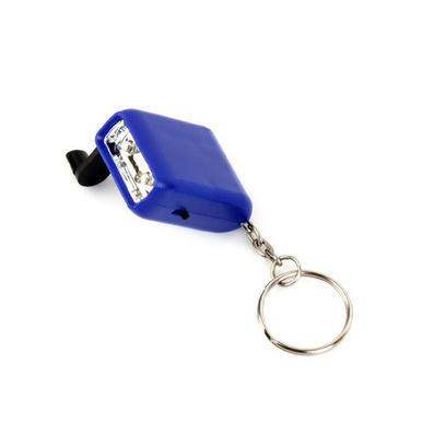 手搖發電鑰匙燈 迷你鑰匙燈 微型小手電 動力手搖充電