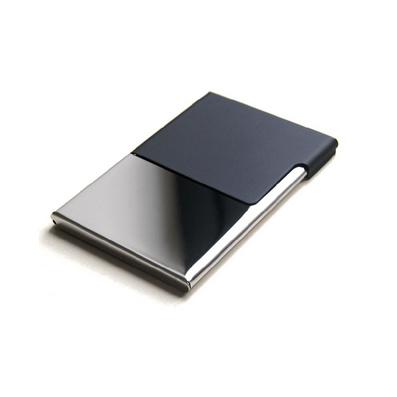 德國進口半蓋不銹鋼名片盒禮品定制