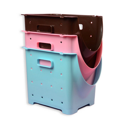 日式水果收纳框 多功能收纳箱 可叠加果蔬箱定制