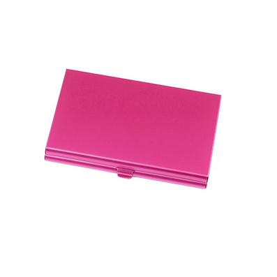 鋁質化妝鏡名片夾 韓版金屬名片盒 男商務女時尚高檔創意定制Logo