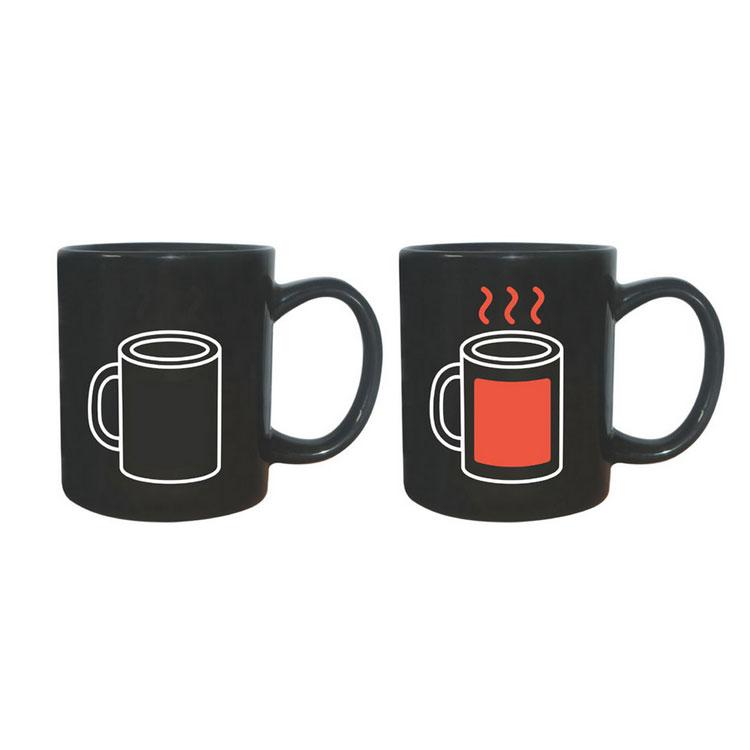 感温变色杯 创意感温杯 创意变色杯 变色马克杯