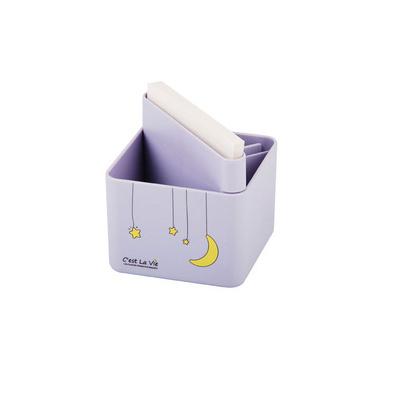 多功能創意筆筒 塑料筆筒收納盒 文具便簽盒