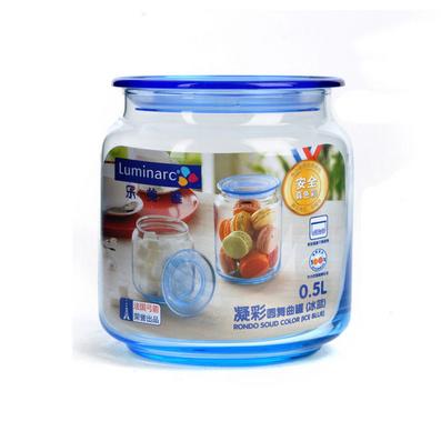 法国玻璃密封罐 奶粉罐 茶叶罐玻璃罐 玻璃瓶