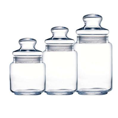 325ml玻璃密封罐 收纳罐子 食品罐 奶粉罐 调味瓶
