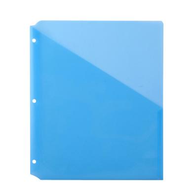 資料冊 可插頁A4文件夾 資料夾 簡易文件檔案收納夾