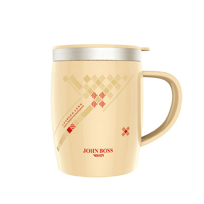 500ML时尚马克杯 办公室水杯桌面杯