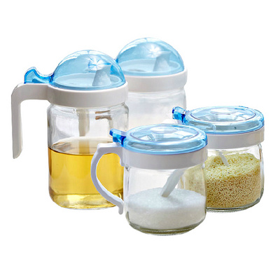 魔幻四件套玻璃油壺 液體調料壺調料盒調味瓶定制