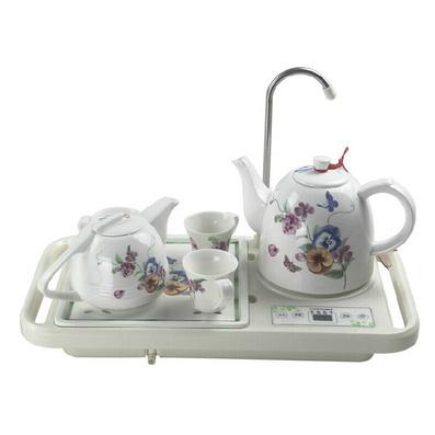 榮事達/Royalstar 陶瓷水壺自動上水壺泡茶壺精品套裝壺