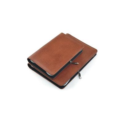 帶拉鏈活頁本 商務拉鏈包筆記本 可加計算器記事本經理夾