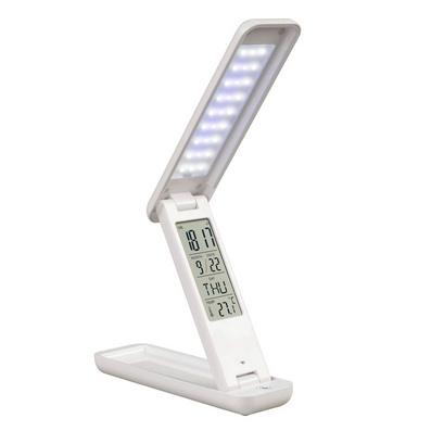 可折疊便攜式充電LED護眼學生學習觸摸萬年歷臺燈 led 色溫可調