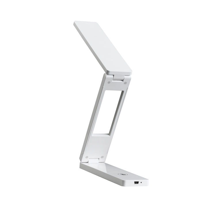 LED護眼折疊臺燈 觸摸USB充電床頭閱讀小夜燈