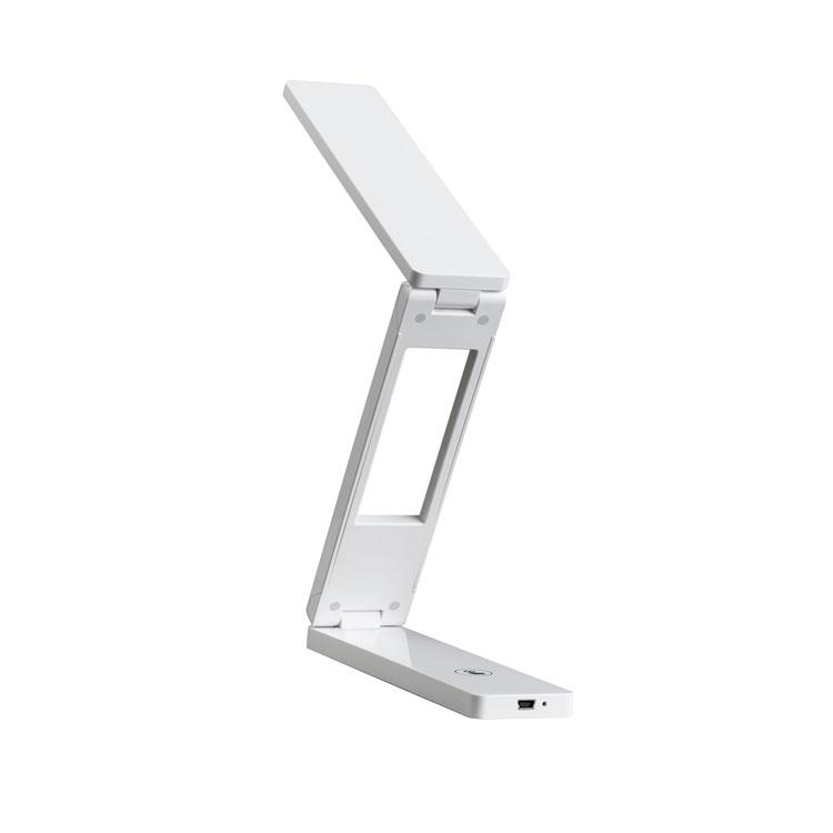 LED护眼折叠台灯 触摸USB充电床头阅读小夜灯