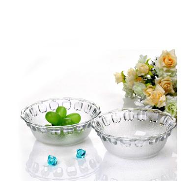 水晶碗4件套透明碗定制