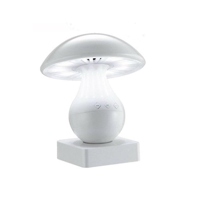蓝牙无线音箱蘑菇插卡音箱LED台灯迷你蓝牙音响