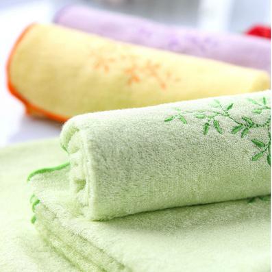 洁丽雅毛巾竹纤维 美容面巾 轻薄吸水柔软百搭