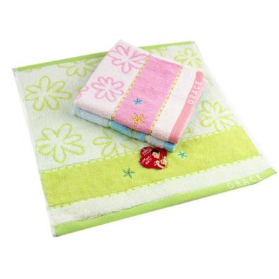 純棉潔麗雅毛巾 正品純棉吸水小方巾