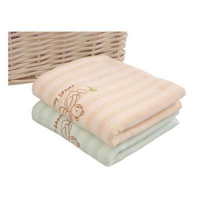正品洁丽雅 纯棉卡通纱布童巾 小毛巾口水巾 柔软吸水面巾