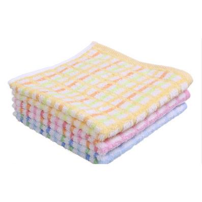 正品潔麗雅方巾 純棉小方格無捻 柔軟舒適方巾