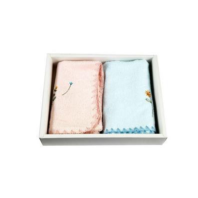 潔麗雅毛巾兩條裝禮盒 柔軟細膩 竹纖維毛巾