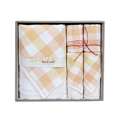 潔麗雅純棉毛巾禮盒棉印系列 浴巾面巾方巾
