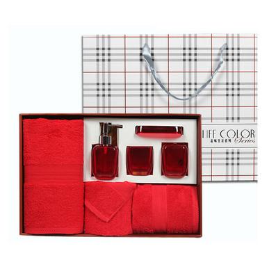 正品 潔麗雅毛巾品味生活系列禮盒套裝 婚慶商務禮品