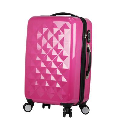 歐美原單abs拉桿旅行箱 鉆石紋行李箱包拉桿箱定制