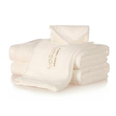 潔麗雅正品花之語系列 純棉方巾/毛巾/浴巾 三件套禮盒裝