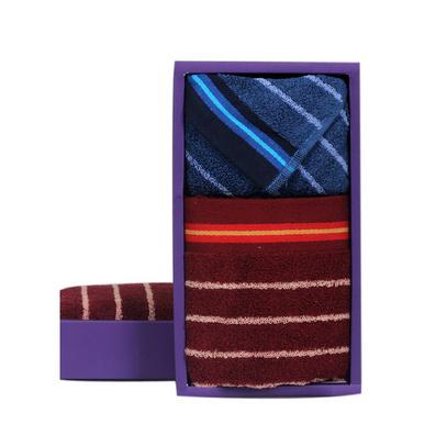 潔麗雅 明系列 毛巾禮品盒裝 面巾方巾各一條 純棉吸水美容毛巾