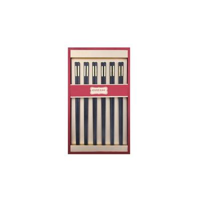 玻璃纖維6雙幸福之家禮盒裝 歲月流金 禮品 筷子