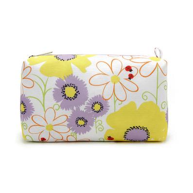 韓范時尚化妝包 清新花朵大容量 化妝包 私物收納包