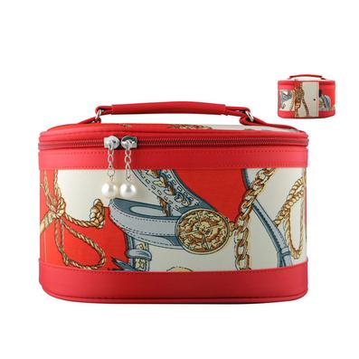 歐美大牌范復古專業化妝包3件套 筒式化妝包 收納包