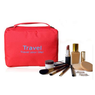 韓版新款 旅行洗漱包 便攜式洗漱袋 防水透氣6色可選
