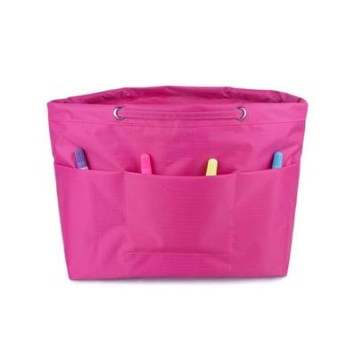 雙層牛津布包中包 收納整理袋 多功能收納包