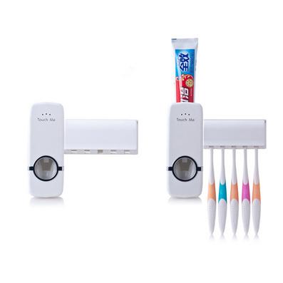 全自動牙膏擠壓器 牙刷架套裝 擠牙膏器