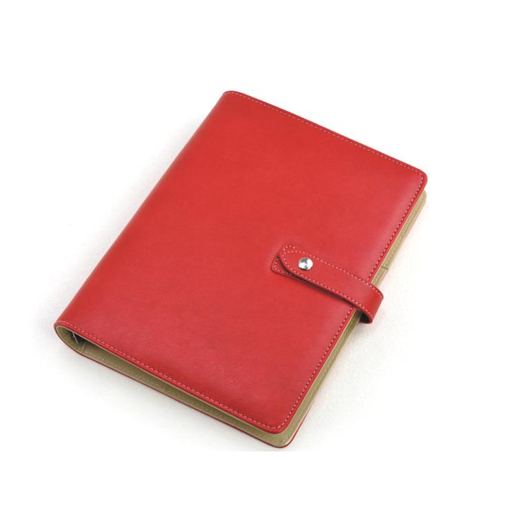 新款 A5超性价比英伦风格活页本 8.5商务记事本个性笔记本 可定制