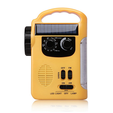 led应急灯 太阳能收音机 收音机手电筒 手摇收音机