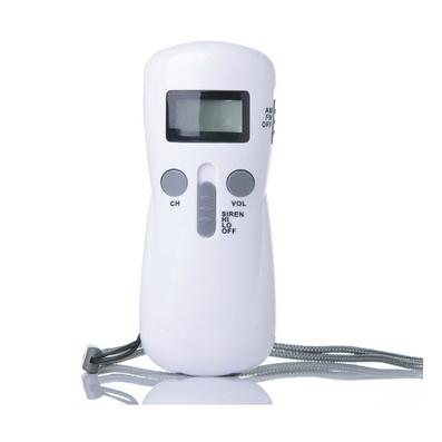 手搖自發電收音機手電筒 應急收音機手電筒