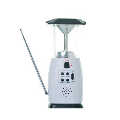 太陽能LED手提燈 手搖發電 戶外露營收音機 移動電源