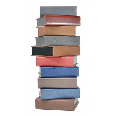 高檔變色PU皮 方形便簽盒 180張紙芯本 個性定制 印企業公司LOGO