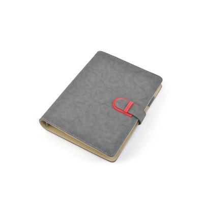 8.5寸富贵绒活页本 A5记事本 商务办公笔记本文具 定制LOGO