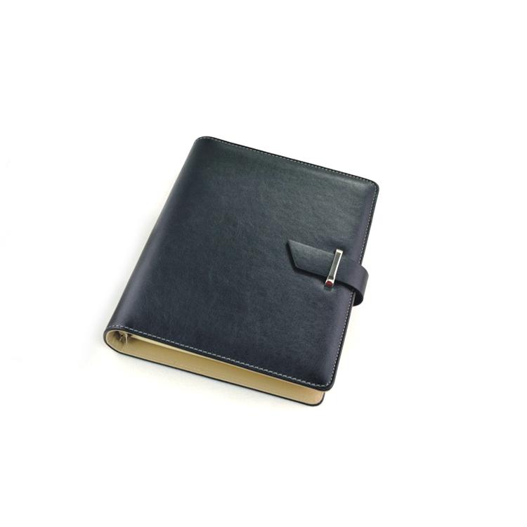 6孔夹8.5寸商务活页本 A5笔记本 商务记事本子 可定制LOGO