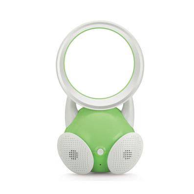 創意USB無葉j靜音風扇禮品定制 迷你款帶音箱