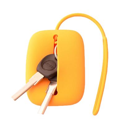 多色硅膠鑰匙包多功能便攜通用創意糖果色鑰匙包定制