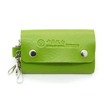 时尚皮质钥匙包男女式便携钥匙扣钱包促销澳门美高梅娱乐游戏可印LOGO