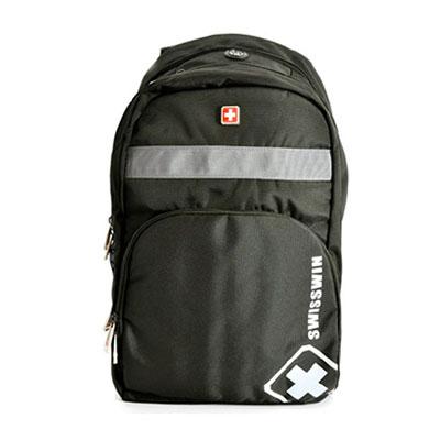 商务瑞士十字电脑双肩包swisswin瑞士十字双肩背包旅行包礼品定制