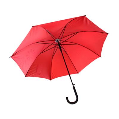 直桿23寸雨傘定制8片長柄黑膠直桿男女式晴雨兩用太陽傘廣告傘定制