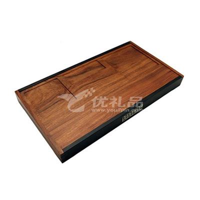 風雅筆筒套裝  方筆筒 鎮紙 名片座 便簽盒 托盤式文具盤