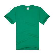 优质纯棉圆领男女式t恤定做舒适圆领文化衫企业宣传礼品印LOGO