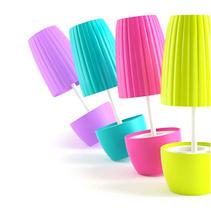 藝術盆栽洗漱套裝創意牙刷架防塵除菌洗漱杯禮品